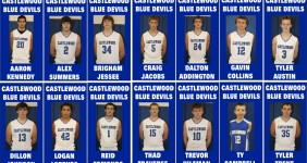 Basketball team custom banners